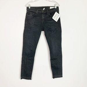 Rag & Bone | dre cropped skinny jeans black 29